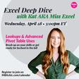 WEDNESDAY, April 28 -- 3:00pm ET