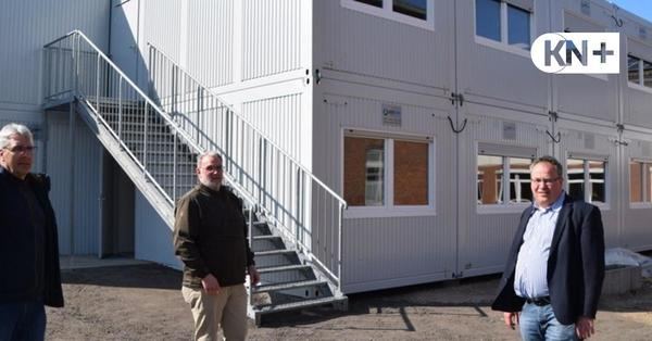 Gemeinschaftsschule Probstei in Schönberg: Schulstart in Containern
