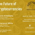 The Future of Cryptocurrencies (virtually) Thurs., 4/22/21 | Hammond Institute @ Lindenwood University