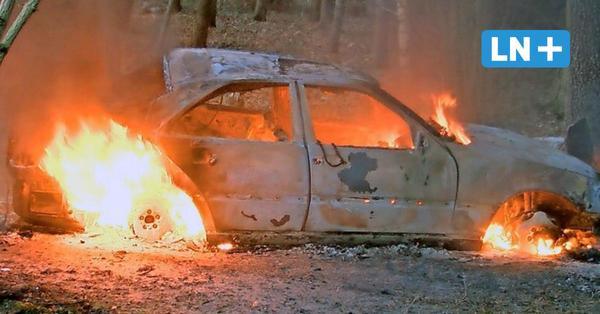 Rondeshagen: Ausgebrannter Mercedes war gestohlen