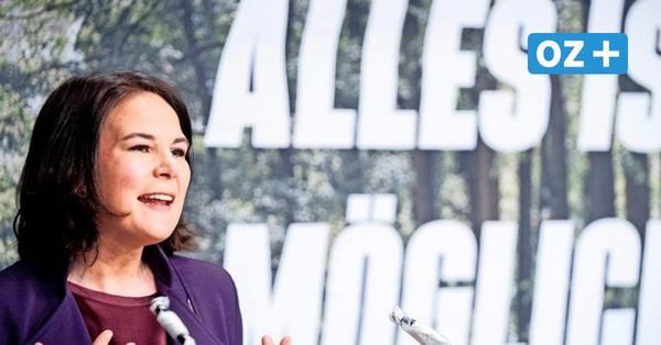 """Grüne in MV zu Baerbock: """"Sie hat die Willensstärke für das Amt der Bundeskanzlerin"""""""