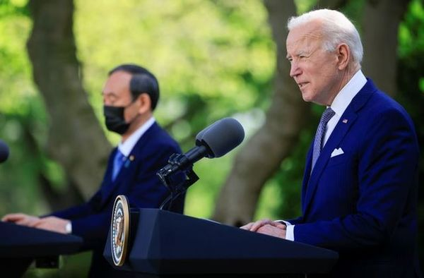 Asia PacificBiden says Japan and U.S. committed to working together to meet China challenge