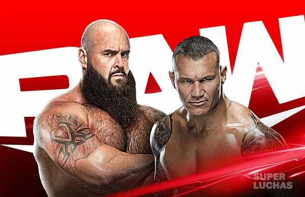 WWE RAW 19 de abril 2021 | Resultados en vivo | Randy Orton vs. Braun Strowman