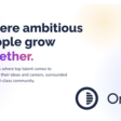 Where ambitious people grow together.