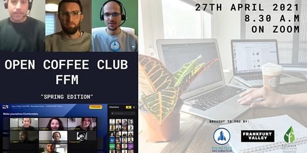 """Open Coffee Club FFM """"Spring Edition"""" Tickets, Di, 27.04.2021 um 08:30 Uhr"""