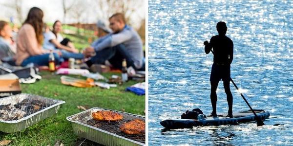 Grillen, SUP und Boot fahren – Welche Corona-Regeln gelten im Rostocker Stadthafen?