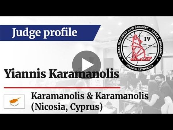 LC IV Judge profile – Yiannis Karamanolis, Managing Director at Karamanolis & Karamanolis (CY)