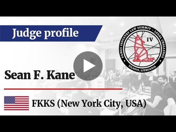 LC IV Judge profile – Sean F. Kane, Partner at Frankfurt Kurnit (US)