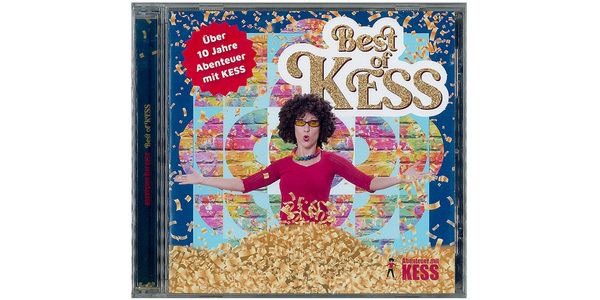 "Cover der CD ""Best of Kess"""