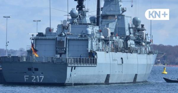 Fregatte Bayern hat in Kiel Soldaten mit Covid19 ausgeschifft