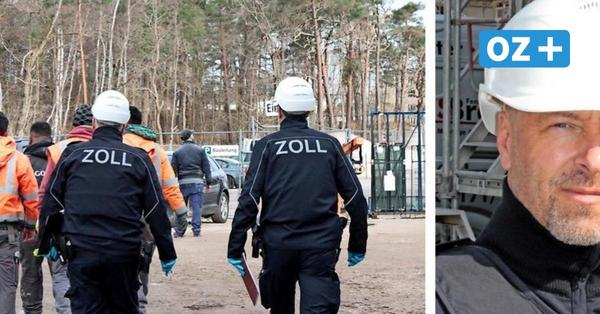"""Zoll Stralsund kontrolliert Großbaustelle auf Rügen: """"Der kommt wohl vom Arbeiterstrich"""""""