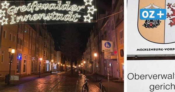 Ausgangssperrein Vorpommern-Greifswald für 48 Stunden ausgesetzt