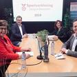 Loek Hartog en Britt van Leijden sportman en sportvrouw van 2019