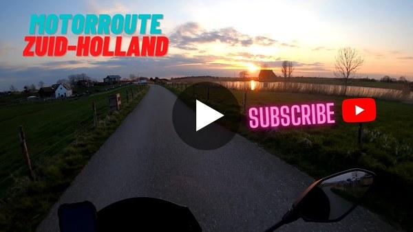RIJPWETERING - Mo On Road verbaasd zich op zijn motor over de mooie dorpjes van Zuid-Holland (video)
