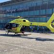 Traumahelikopter kan voortaan bij Alrijne landen
