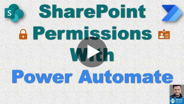 SharePoint Permissions with Power Automate