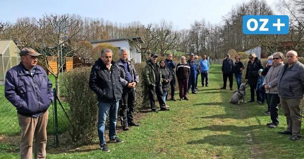 Kröpelin: Protest gegen geplantes Aus für Kleingärten
