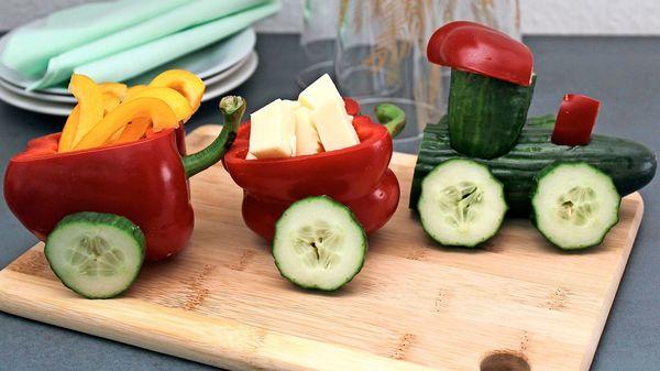 Diese kleinen Kunstwerke machen Lust auf Obst und Gemüse