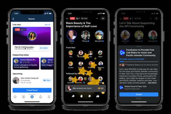 Stanze audio, podcast e Soundbite: le novità di Facebook sull'onda di Clubhouse - Tech