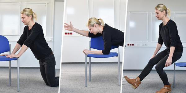 Sport für Zwischendurch: Übungen, die man am Arbeitsplatz machen kann