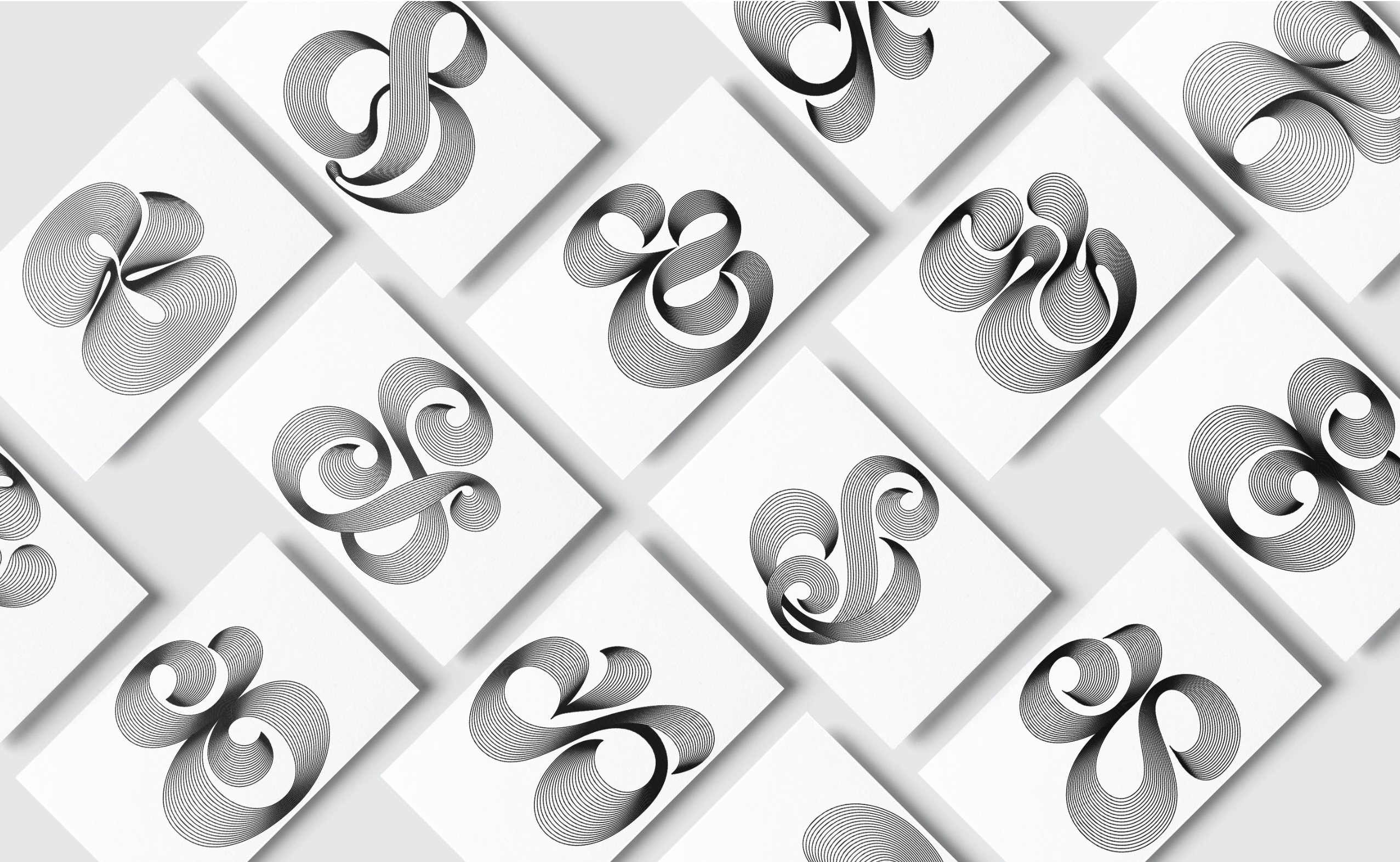 Bianca Dumitrascu's gorgeous Ampersand Series is available in limited-edition cards and prints from her online shop.