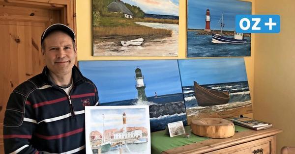 Der Ostseemaler von Mecklenburg: So tickt Jörg Sültmann