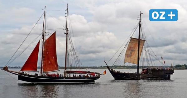 Wismar: Traditionssegler Atalanta und Wissemara bereit für Saisonstart