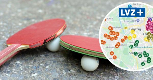 Hier kann man Tischtennis in Leipzig spielen: Interaktive Karte zeigt alle Standorte