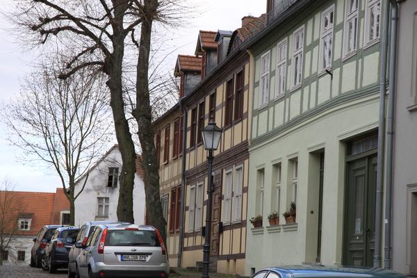 Nauens Altstadt bietet bei jedem Wetter Sehenswertes. (Foto: Andreas Kaatz)