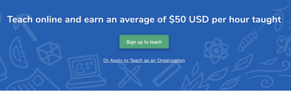Outschool's average gross volume per hour is over $70