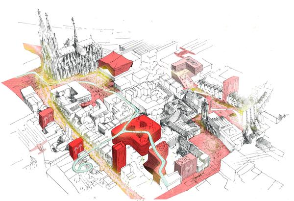 Köln, neu gedacht. Quelle: Caspar
