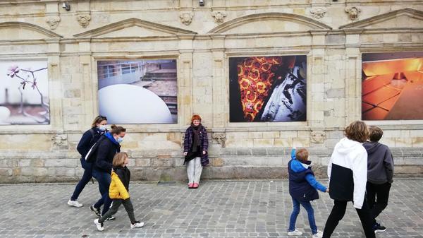 Cassel: avec Métamorphoses, l'art s'expose aux fenêtres du Musée de Flandre - Metamorphoses in Cassel toont kunst in de etalages van het Musée de Flandre