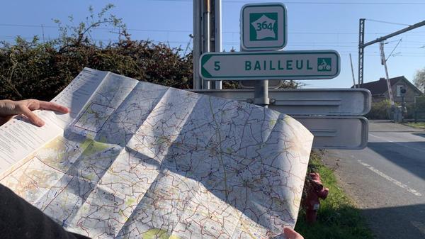 La véloroute des Flandres : un itinéraire balisé d'Armentières à Dunkerque - Een bewegwijzerde route van Armentières naar Duinkerke