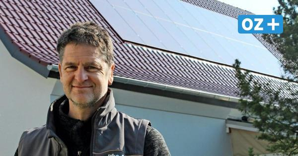 Greifswalder Segelmacher arbeitet mit erneuerbaren Energien
