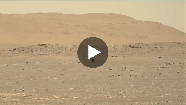 First Video of NASA's Ingenuity Mars Helicopter in Flight, Includes Takeoff and Landing (High-Res)