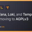 Grafana, Loki, and Tempo will be relicensed to AGPLv3   Grafana Labs
