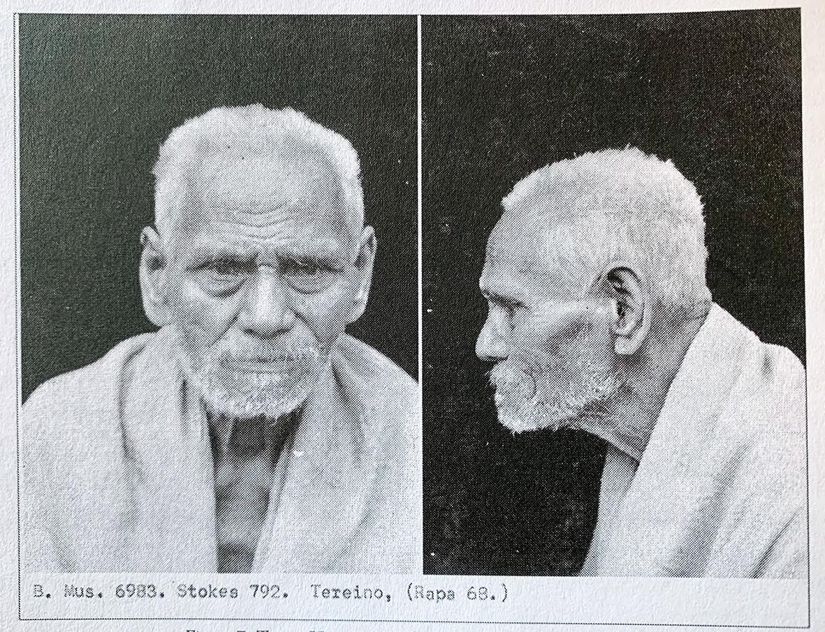Tupou Urutua a Make (dit Tereino), Stokes, 1921, © Api Tahiti éditions - Ginkgo éditeur