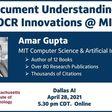 Document Understanding - NLP & OCR Innovations at MIT CSAIL | Meetup