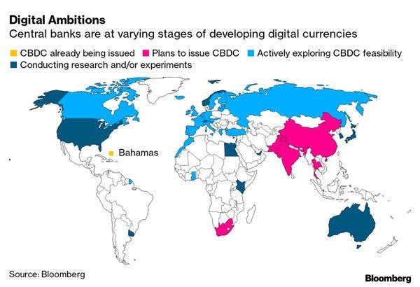 World's Most Cashless Place Takes Next Step Toward Digital Money