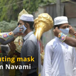 India Today Tweets Pictures Of Actors Dressed As Hindu Deities Distributing Masks To Only Muslims On Ram Navami