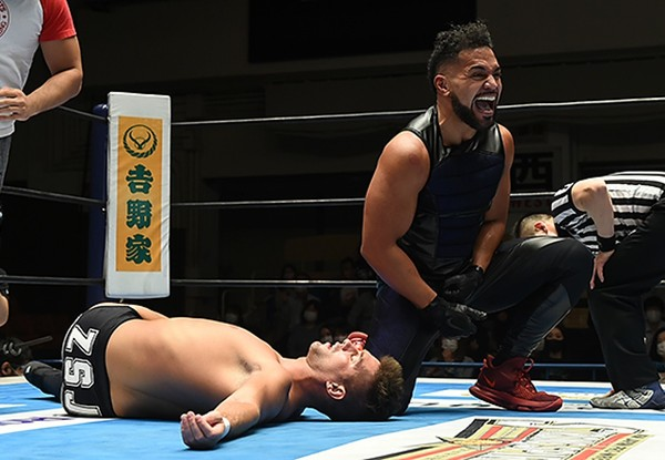 NJPW: Estipulación para la lucha Sabre vs Tanga Loa en Wrestling Dontaku
