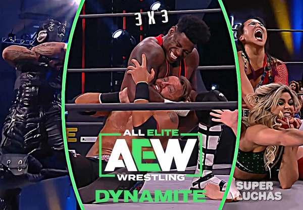 3 x 3: Lo mejor y lo peor de AEW Dynamite 21 de abril 2021