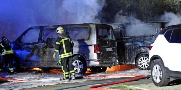 Brandanschlag auf Transporter in Leipzig - Rache für Inhaftierung von Lina E.?