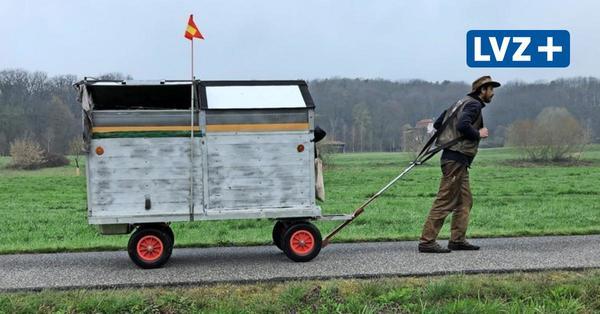 Auswandern wegen Corona: Sachse packt seine sieben Sachen und zieht zu Fuß nach Norwegen