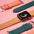 Get set for summer with colorful leather bands for Apple Watch