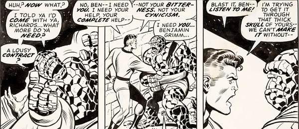 Rich Buckler - Fantastic Four Original Comic Art