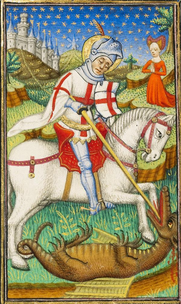 Saint George and the dragon, Master of Sir John Fastolf