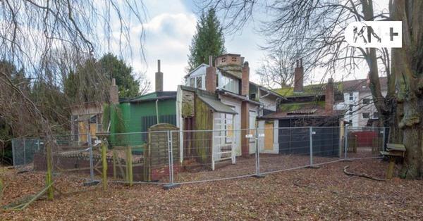 Auf dem Grundstück der Felsenhalle entstehen drei Wohnhäuser