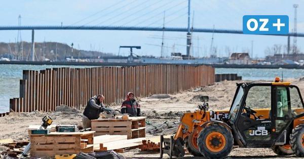"""""""Stralsund Wall"""": Das ist die neue Spundwand im Strandbad"""