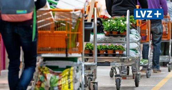 Baumärkte müssen in Sachsen ab Sonnabend schließen – dann gilt auch die Ausgangssperre